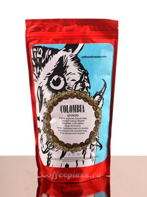 Кофе Owl в зернах Colombia Quindio 250 гр