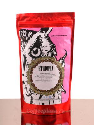 Кофе Owl в зернах Ethiopia Adado Washed 250 гр