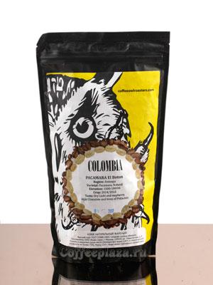 Кофе Owl в зернах Columbia Pacamara El Boton 250 гр
