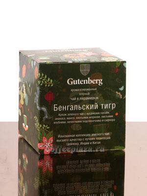 Gutenberg Бенгальский Тигр в пирамидках 12 шт