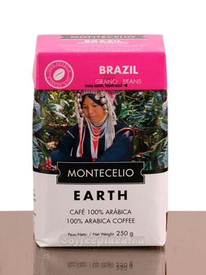 Кофе Montecelio Brasil в зёрнах 250 гр