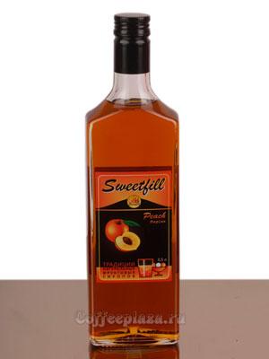 Сироп Sweetfill Персик 0,5 л