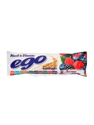 Батончики Мюсли Ego Лесные ягоды с кальцием и витаминами