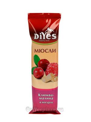 Мюсли Diyes Клюква-малина  в йогурте