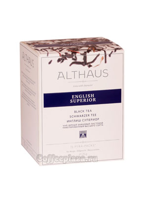 Чай Althaus English Superior черный 15х2.75 гр пакет