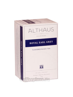 Чай Althaus Royal Earl Grey черный 20х1,75 гр пакет