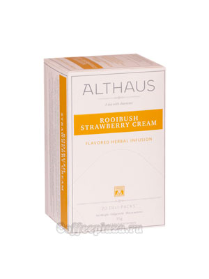 Чай Althaus Rooibush Strawberry Cream 20x1,7 гр
