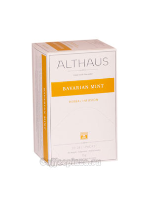 Чай Althaus Bavarian Mint 20х1,75 гр