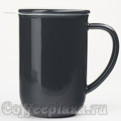 VIVA Minima Чайная кружка с ситечком 0,5 л (V77545) Темно-синий