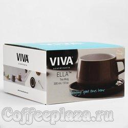 VIVA Ella Чайная чашка с блюдцем 0,3 л (V79750) Чайная роза