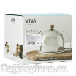 VIVA Thomas Чайник заварочный с ситечком 0.9 л (V78002) Серебро