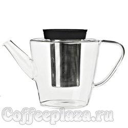 VIVA Infusion Чайник заварочный с ситечком 1 л (V27801) Черный