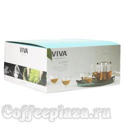 VIVA Bjorn Чайный набор (6пр) (V32801) Черный