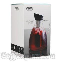 VIVA Infusion Графин с ситечком для чая 2 л (V33301) Прозрачный
