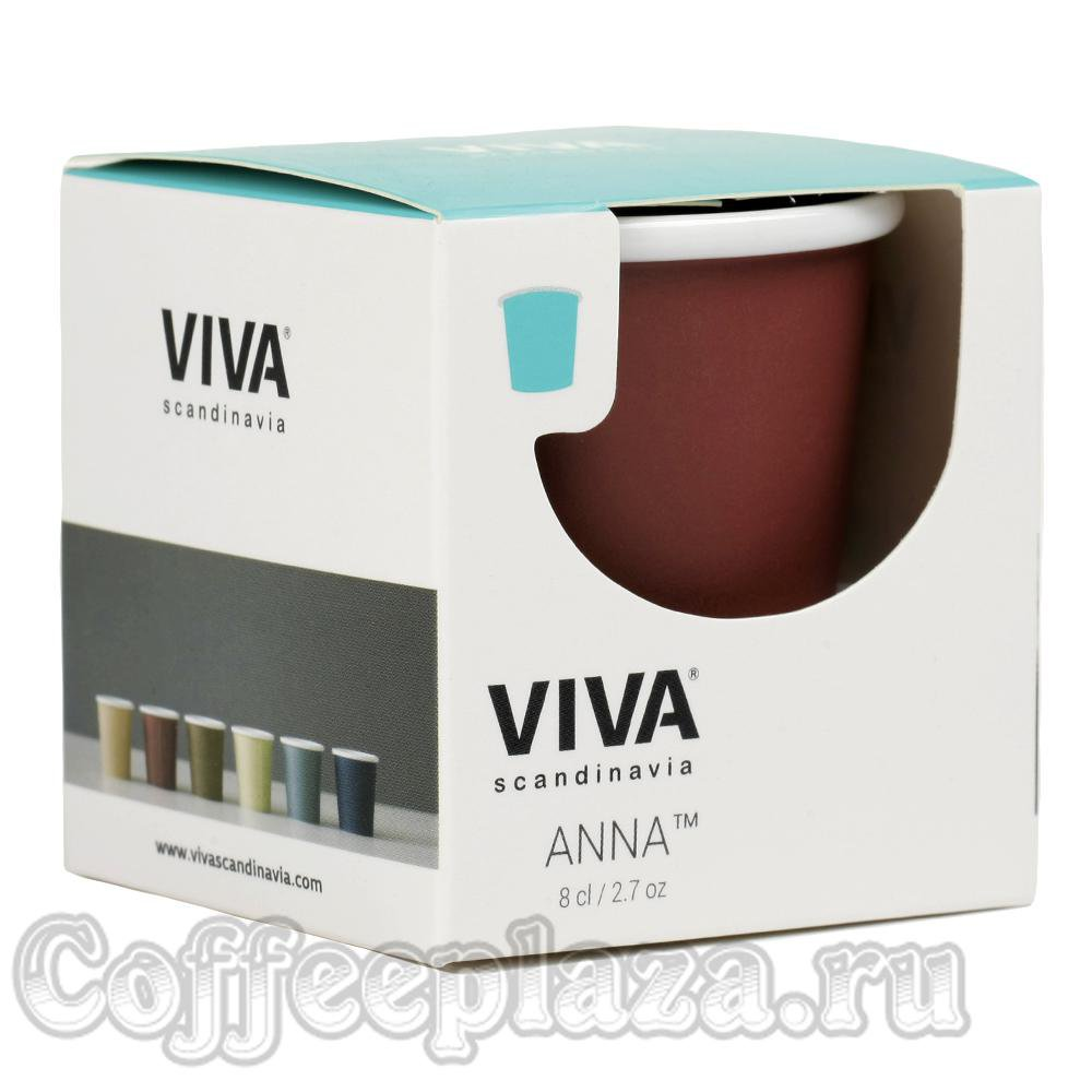 VIVA Anna Стакан 0,08 л (V70153) Бордо