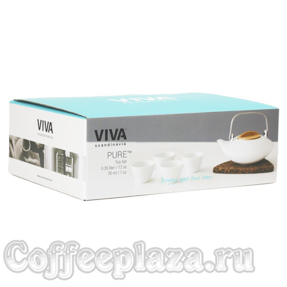 VIVA Pure Чайный набор (5пр) (V75902) Белый